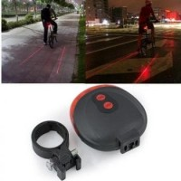 TaffLED Bicycle Laser Strobe Taillight 5 LED / Lampu LED Sepeda SL-116