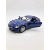 Welly Diecast - Mercedes Benz AMG GT Skala 1:34-39 (Biru)