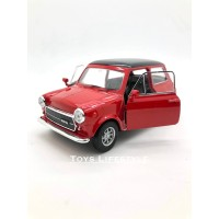 Welly Diecast - Mini Cooper 1300 Skala 1:32 (Merah)
