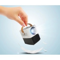 L7 Mini android Proyektor/Projector with wifi bluetooth Flashdisk1080P