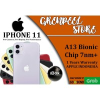 iPhone 11 IBOX - Black Green White Yellow Purple Red Garansi Resmi TAM
