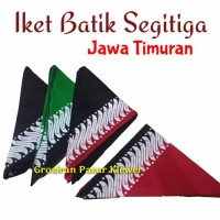 Iket Kepala Batik Segitiga Jawa Timuran