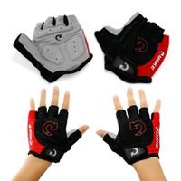 (EDCONLINE) MOKE sarung tangan sepeda berkualitas half finger glove
