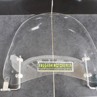 visor windshield universal untuk semua motor vespa piaggio vario mio