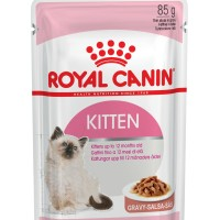 Makanan Kucing Royal Canin Kitten Gravy Pouch hobby n collection