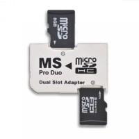 sony memory card photofast dual adapter micro SD pro duo PSP fat slim