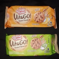 Good time Vita go biskuit sereal banana / coconut 64 gram