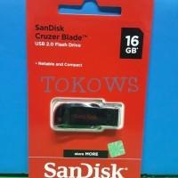 Flashdisk SanDisk Cruzer Blade 16GB CZ50 - Garansi Resmi