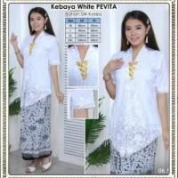 Promo Kebaya Encim Silky Korea Kombinasi Brukat Import Lapis Furing
