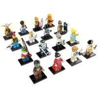 LEGO minifig complete set series 4 (16pcs) (ziplock)