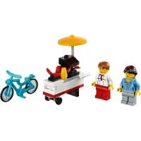 lego Hot Dog Cart polybag Item No: 40078