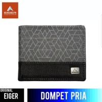 Dompet Eiger Geometrica - Black