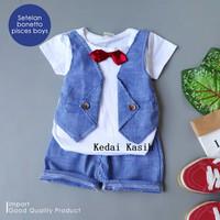 Baju Anak Bayi Laki-Laki Setelan Pesta Dasi Import Premium Best Seller