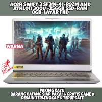 LAPTOP ACER SWIFT 3 SF314-41-R9ZM AMD ATHLON 330U RAM 8GB 256GB SSD