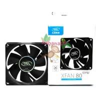 Deep Cool XFAN 80 Fan Casing komputer gaming pc Deepcool 80mm 8cm case