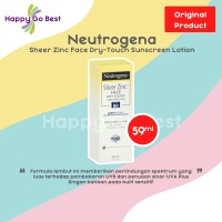 Neutrogena Sheer Zinc Dry Touch Sunscreen Broad Spectrum SPF 50