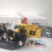 TERLENGKAP Kaliper SWIT Thailand Monoblok 4 Piston Model Nissin brembo