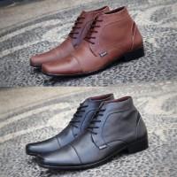 Sepatu Pantofel Formal Kulit Asli Pria Original Handmade - G14