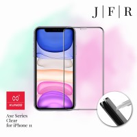 Xundd Tempered Glass Full Screen Protector iPhone 11 Clear Axe Series