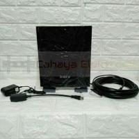 Antena Digital TV Luar & Dalam Plus Cable 10M