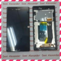 Hot Sale Lcd Sony Xperia Z C6602 Complite Touchscreen Bezel Original