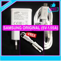Beli 1 Gratis 1 Charger Samsung Galaxy J Series Original 100% - Putih
