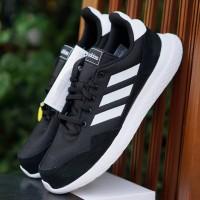 ORIGINAL Adidas Archivo Black White Hitam Putih Sepatu Pria Lari BNWB