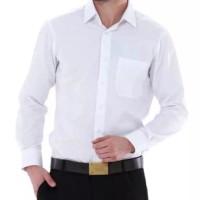 Kemeja Putih Polos Lengan Panjang Pria / Kemeja Formal Kantor