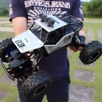 Mainan Racing Car RC Mobil Rock Crawler 1:16 Off Road 2.4GHz 4WD