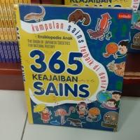 Buku Ensiklopedia Anak 365 KEAJAIBAN SAINS Kumpulan Sains Terbaik