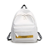 tas korea bagpack pria wanita GXYLLDS Fashion limited edition - Putih
