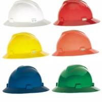 Helm Proyek MSA FullBrim ORI +inner biasa