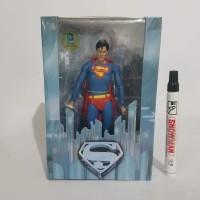 lmainan action figure superman neca christopher reeves tinggi sekitar