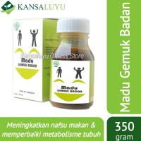 Madu Gemuk Badan Dewasa - Suplemen Herbal Penggemuk Alami