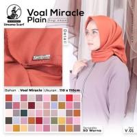 Jilbab segiempat umama voal miracle plain