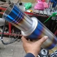 Knalpot Mobil HKS Turbo Las Argon Sanblas