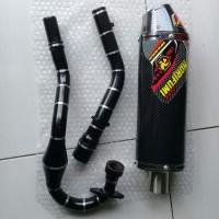 Knalpot racing Norifumi Evo Karbon Klx Dtracker 150 CRF Klx L Klx BF
