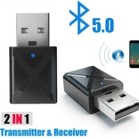 Bluetooth Transmitter Receiver USB Radio dual fungsi [ New!!! 2 in 1 ]