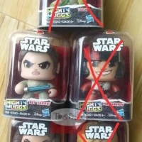 Action Figure - Star Wars Mighty Muggs By Hasbro - Free Fidget Spinner