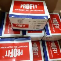 Sekrup profit - baja ringan - 10x19