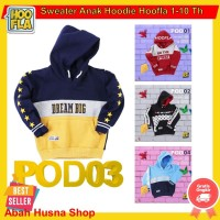 Hoofla Kids Sweater Anak Laki Switer Cewe Hoodie Jaket Pria Lucu Ori