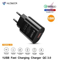 Ultimate Power Charger Fast Charging 1Usb QC 3.0 TC01Q-S