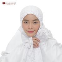 Mukena Siti Khadijah Maliqa White⠀⠀