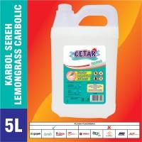 Karbol Sereh Premium ASLI Minyak Sereh 5 liter