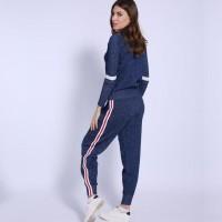 Original Fashion Musim Dingin 2 Piece Set Wanita Pakaian Olahraga New