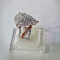 cincin berlian kombinasi MBC 0009
