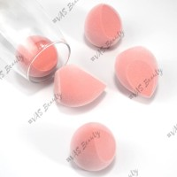 Makeup Blender Sponge Microfiber Velvet Eksklusif Rose Color