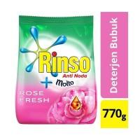 RINSO MOLTO ROSE FRESH 770gram