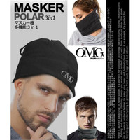 Kupluk OMG Masker Polar 3in1 OMG Mask Balaclava Slayer Scarf Motor Out