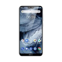 Nokia 6.1 Plus Smartphone - 4/64GB - Goss Black White